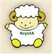 logo KRYSTA - gaver til kærester